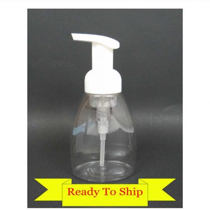 Blank Acrylic Keychain - Clear Foaming Soap Dispenser
